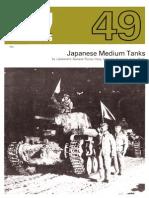 Afv Weapons Profile 49 Japanese Medium Tanks