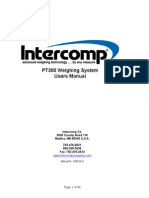 INTERCOMP Pt300 Users Manual Rev g