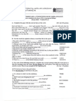Model Proba Verificare Lb Engleza Cls a9-A