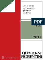 Quaderni Fiorentini, nº 42