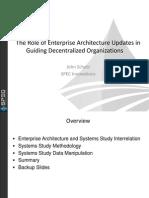 Enterprise Architecture Updates