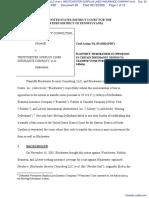 BLACKWATER SECURITY CONSULTING, LLC et al v. WESTCHESTER SURPLUS LINES INSURANCE COMPANY et al - Document No. 26