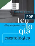 Fundamentos Teologia Escatologica Low