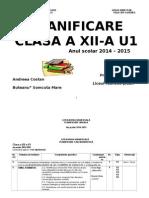 PLANIFICARE LIT UNIV A XIIA 7