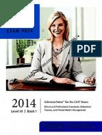 2014 CFA Level 3 Book 1