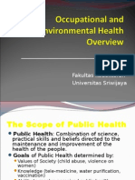 IT 1 - Environmental & Occupational Health Overview - AM