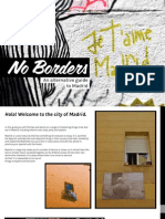 No Borders - Madrid Guide
