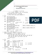 NCERT Mathematics Class 11 Sets Solutions