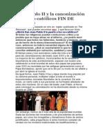 Juan Pablo II y la canonización de los no.docx