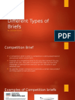 different types of briefs