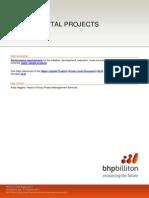 GLD.031 Major Capital Projects (Minerals)