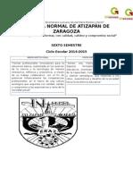 Planificación español y matemáticas segundo grado