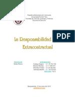 Trabajo Obligaciones Responsabilidad Civil Extracontractual