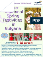 Quick View on Traditional Spring Festivities in Bulgaria