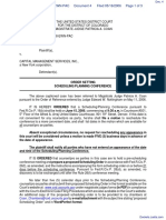 Taylor v. Capital Management Services, Inc. - Document No. 4