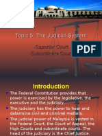 1) Judicial System -Amended 2013