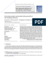 Assessing Output and Productivity Growth in the Banking Industry
