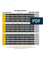 P90X3 Schedule | Physical Exercise | Nature