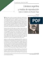 Literatura Argentina y modos de reproducción - Daniel Link