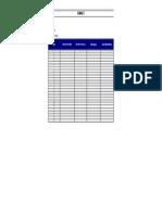 tabela para análise Swot FOFA