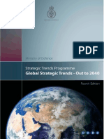 Global Strategic Trends Programme 2040