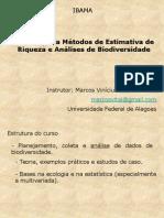Analise de Biodiversidade - IBAMA 2013