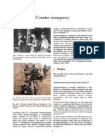 Counter-Insurgency Campaigns of Duly-elected or Politically Recognized Governments