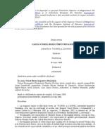 Case of Viorel Burzo v. Romania Romanian Translation by the Scm Romania and Ier
