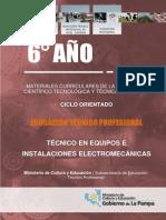 Setp - Técnico en Equipos e Instalaciones Electromecánicas - 6to