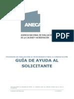 guía ANECA