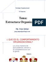 ORGANIZACIONAL PSICOLOGIA