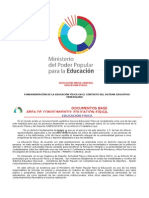Programas de 1ro a 5to Año de Educación Media General