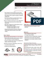 APW FDC-FDLC Heat Lamp