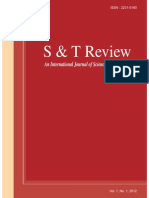Sand t Review Journal Vol 1 No 12012