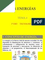 3ESO - Energías - Tecnologías