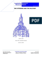 2015 Acts Affecting Veterans and the Military