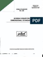 Cema- Srew Conveyor