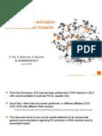 Fast Dormancy and Enhanced Cell FACH V1 - OLN