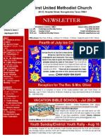 Newsletter July-August 2015