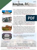Washington DC Sample Pilgrimage | Canterbury Pilgrimages