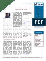 TDMG Newsletter Vol 1, Iss 1