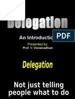 Delegation an Introduction