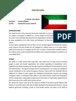 Tushar Agarwal - Kuwait, Disec