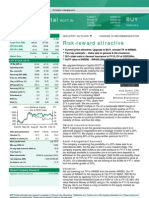 BNP Paribas -Reliance Capital - Risk-Reward Attractive