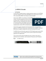 Anexo 3.b Cisco d9034-s Encoder