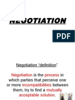 6 Negotiation