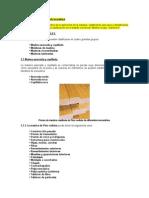 Trabajo N° 1 pto 3 Ámbito y aplicación de la madera