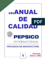 Manual de Calidad Volumen 1 Procesos de Manufactura Bebidas