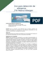 Instructivo Para Detección de Alérgenos