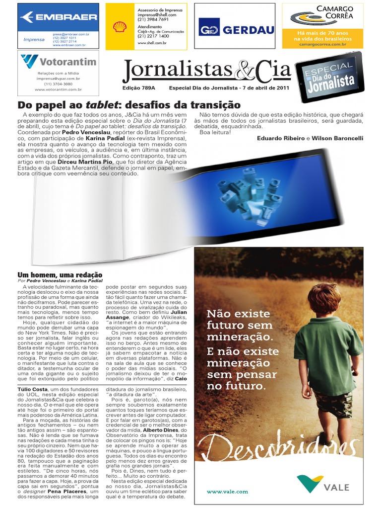 jornalismo Do Papel Ao Tablet f35d5ffc1ed5a